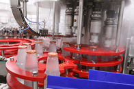3 In 1 Automatic Glass Bottled Juice Production Line Washing Filling Sealing Capping