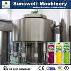 Plastic Bottle Hot Filling Machine Automatic For Fruit Juice Filling