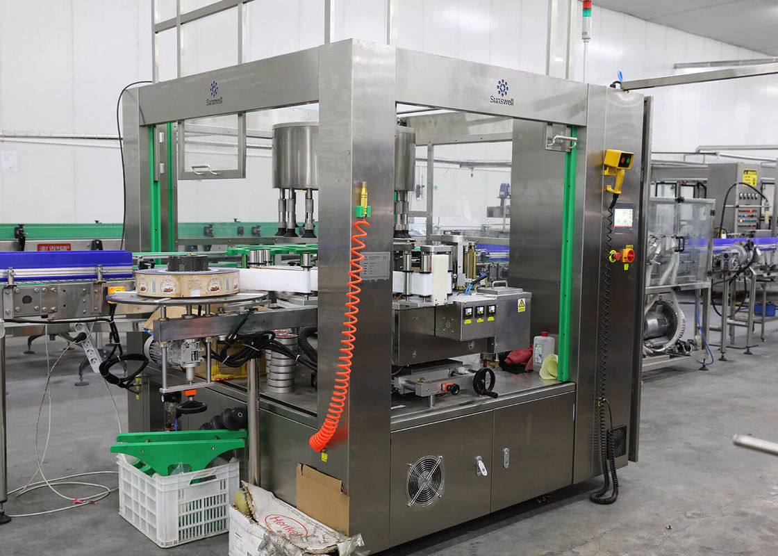 PET Flat Round Bottle Square Bottle Labeling Machine Packing Fully Automatic