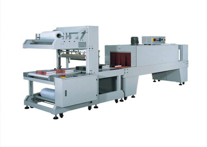 Fully - Automatic Shrink Packaging Equipment For Square Round Bottle Pop Can