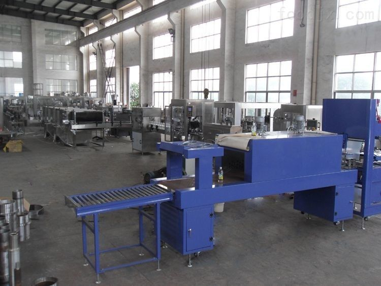 Electric Automatic Shrink Wrap Machine / Production Line CE ISO And SGS