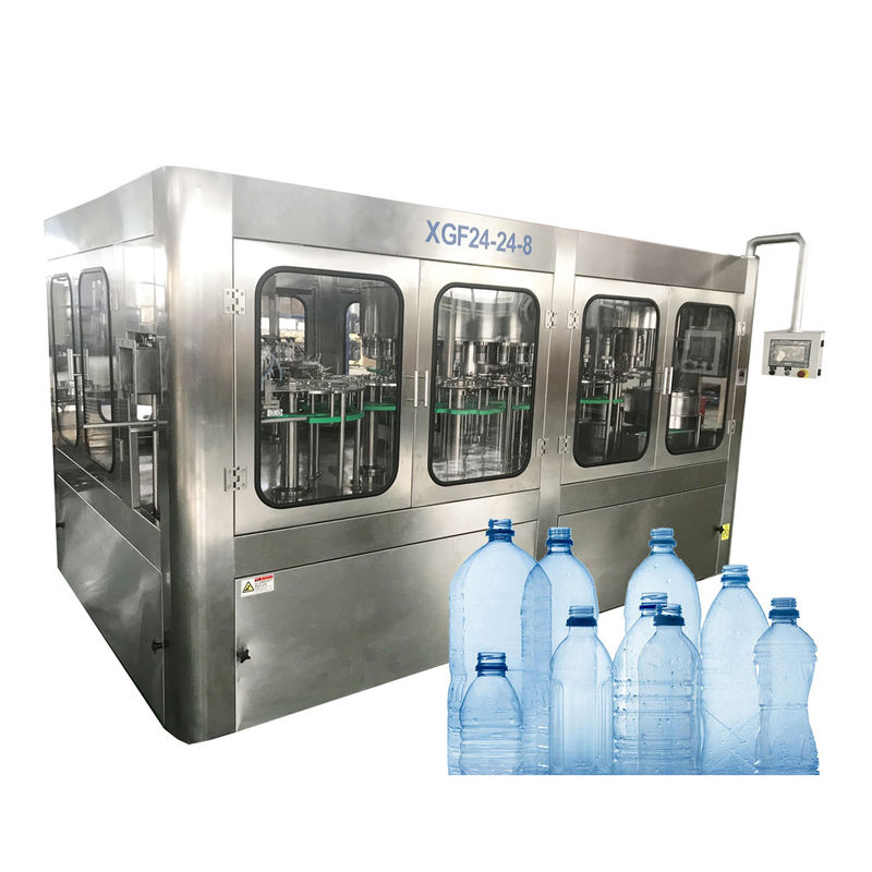 5 L Mineral Water Barrel Filling Machine , Water Filling Production Line