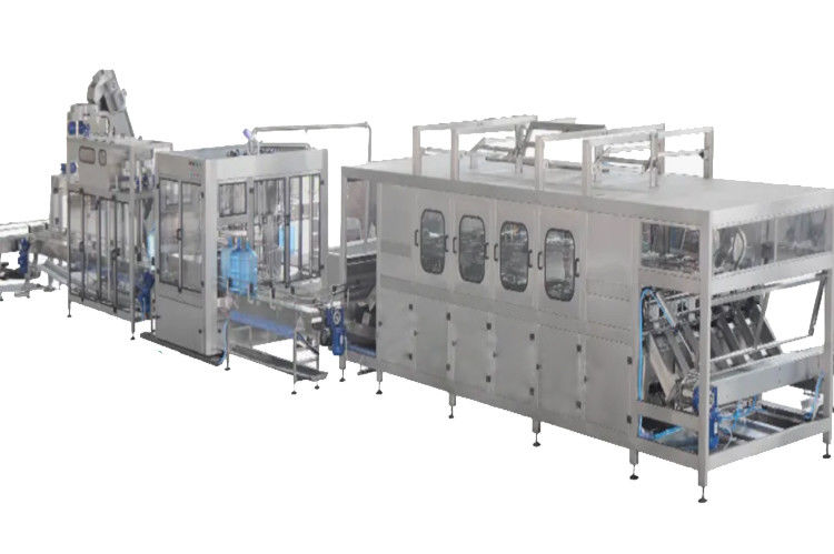 Fully Automatic Mineral Water Rinsing Filling Capping Machine For Bucket Water