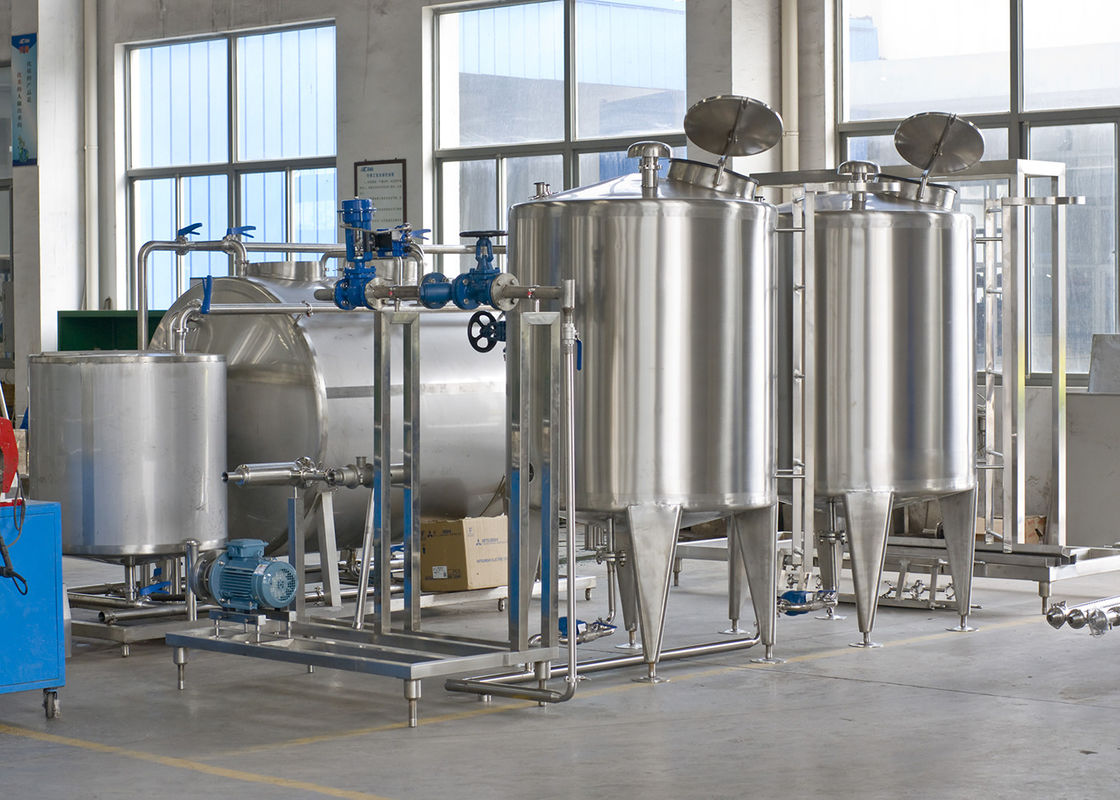 SUS 304 Pure Water Treatment Equipments For Drinking Mineral Water Production
