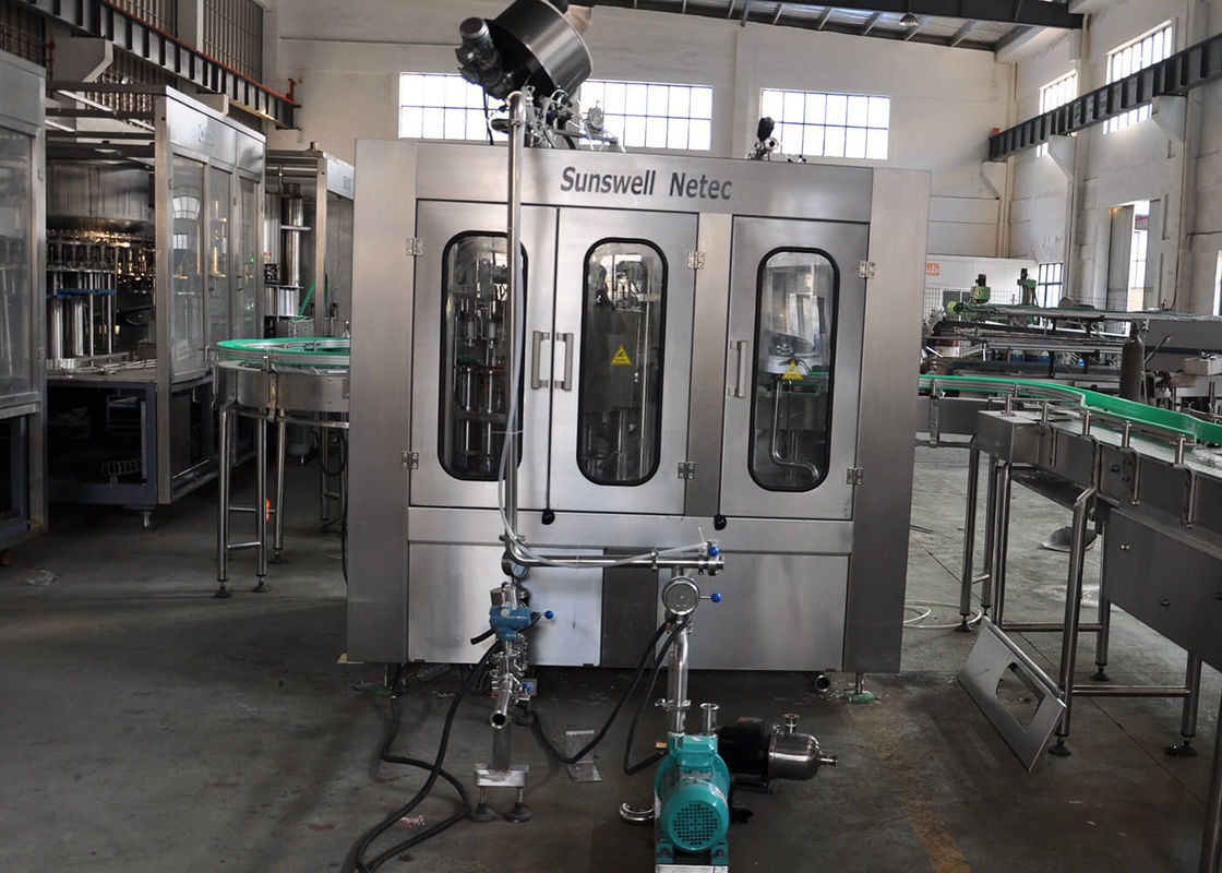 Carbonated Soft Drink Filling Machine Automatic Rinsing Filling Capping