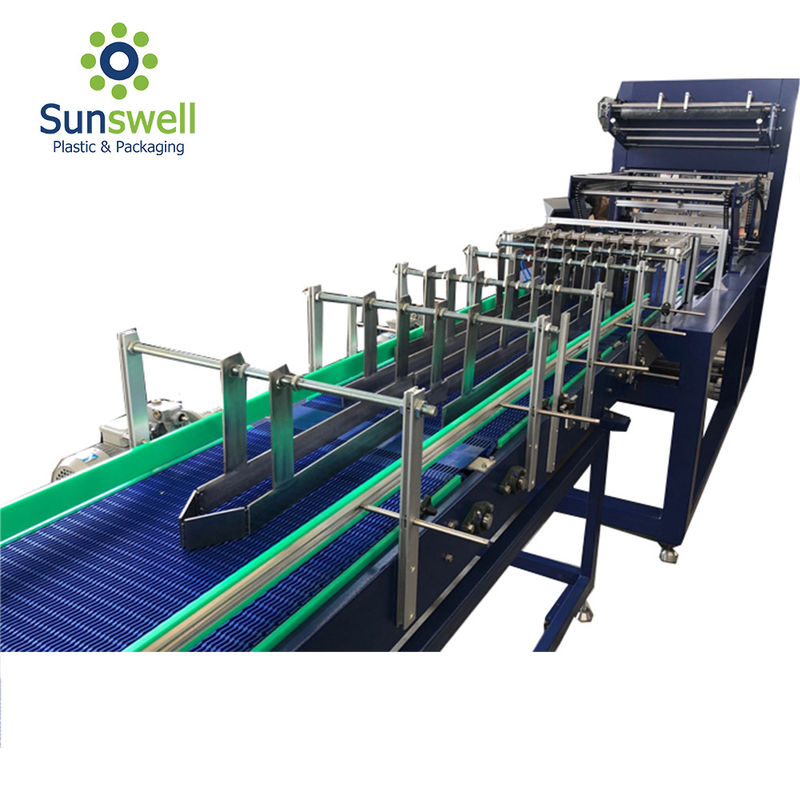 High Performance Shrink Wrapping Machine For Bottles 35 Packs / Min Fully Automatic