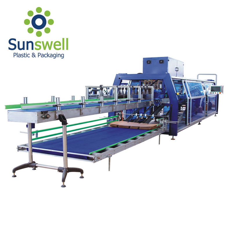 Automatic Shrink Film Wrapping Machine For Food Packaging Packing Line